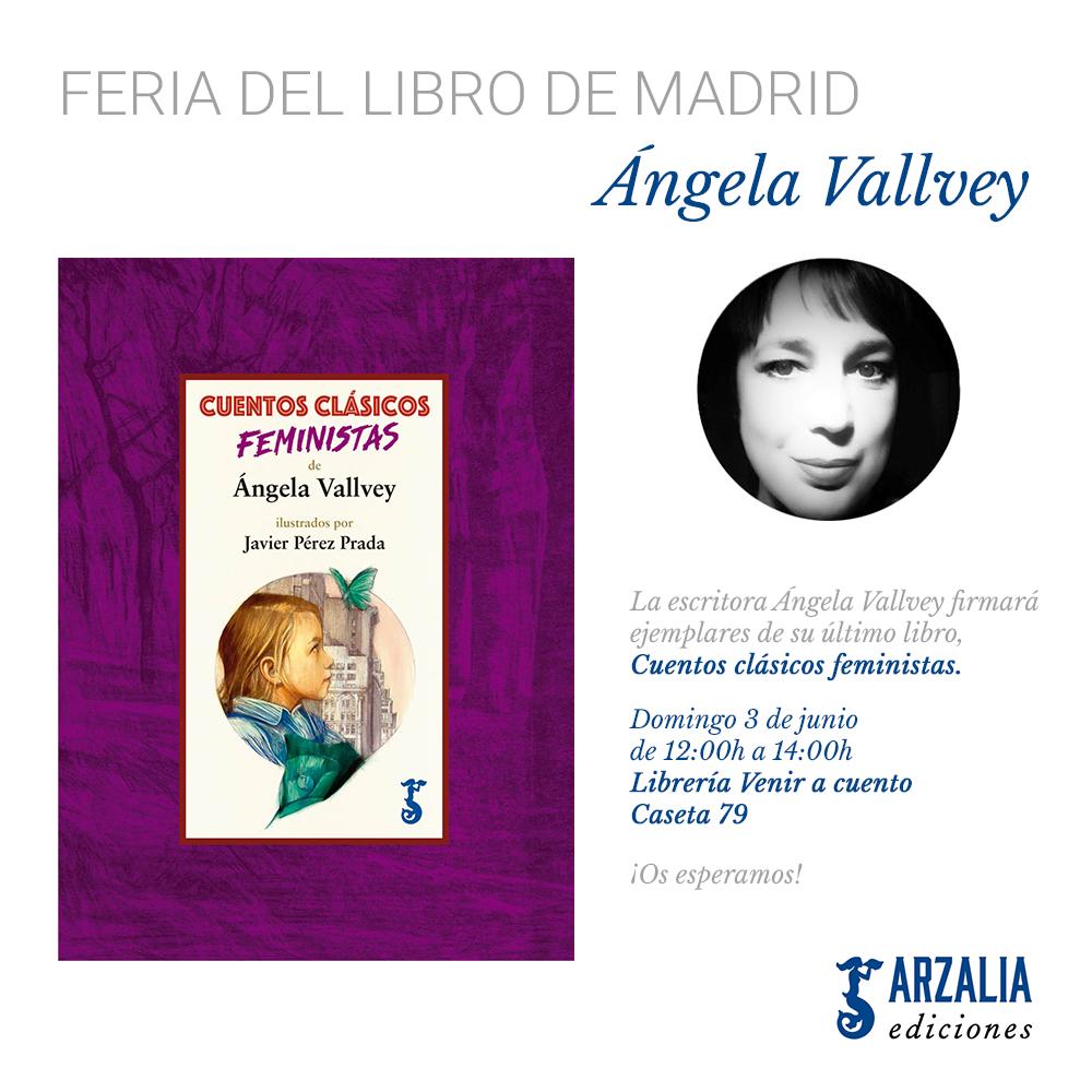 Ángela Vallvey Feria del Libro Madrid 2018